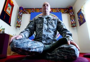 U.S. Army's first Buddhist chaplain, Thomas Dyer