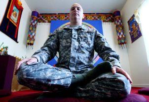 U.S. Army's first Buddhist chaplain, Thomas Dyer